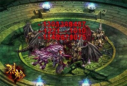 传奇版本网页游戏《烈焰传奇》幽冥宫殿多少级开启