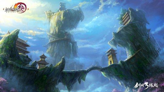 《剑网3缘起》再现五大门派的恢弘与风貌
