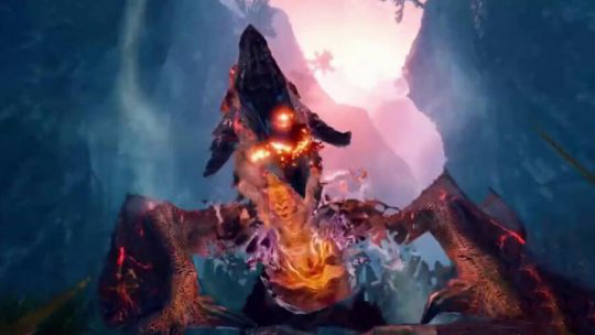 最近火热游戏《怪物猎人:崛起》更新上线霸主雄火龙