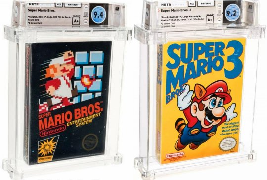 NES卡带《超级马里奥兄弟》卖出天价打破最贵游戏记录