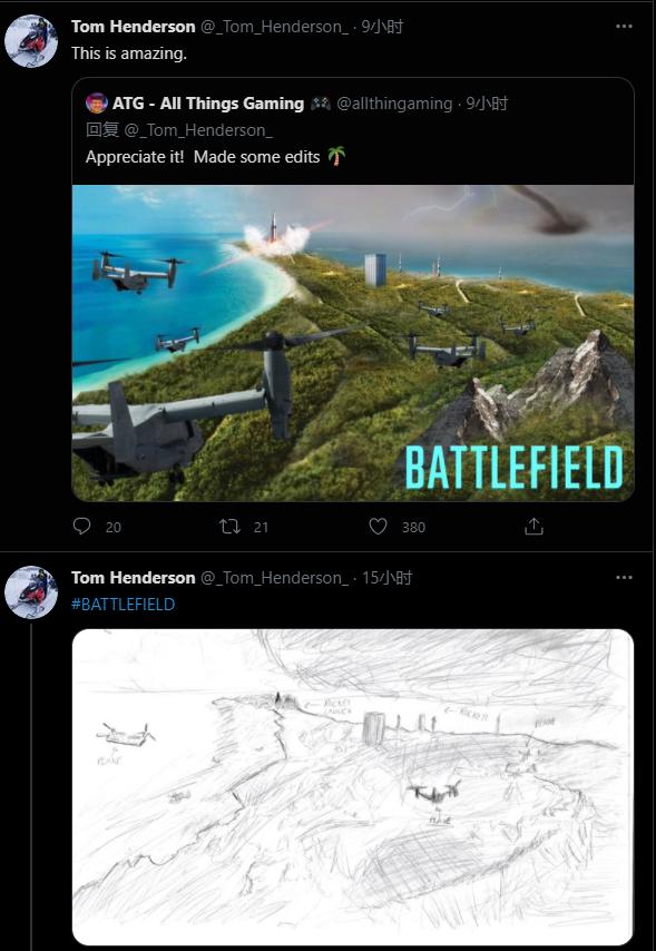 推特爆料《战地6》首支预告片内容
